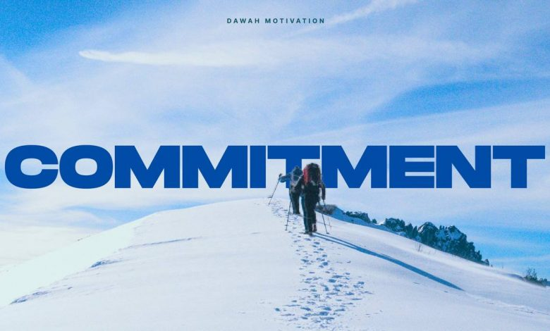 Photo of COMMITMENT BLOG